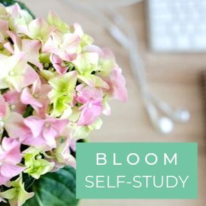 BLOOM SHOP PAGE SELF-STUDY